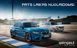 Nuolaida BMW galios didinimui
