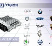 Naujausių variklių programavimas: Bosch MD1 / MG1 valdikliai