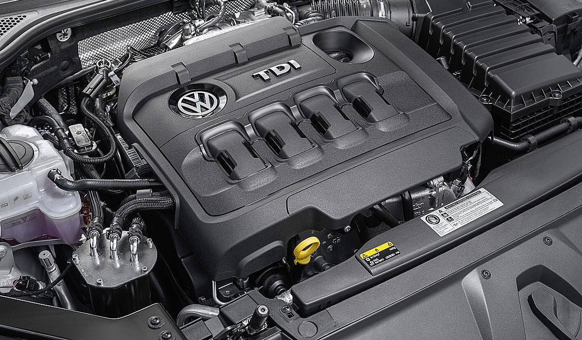 Volkswagen dyzelinis variklis. Nuotraukos teisės priklauso Volkswagen AG