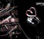 Prisipažinsime: mylime jus. Su Valentino diena!